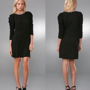 Alice + Olivia | Black Knit Studded Dress